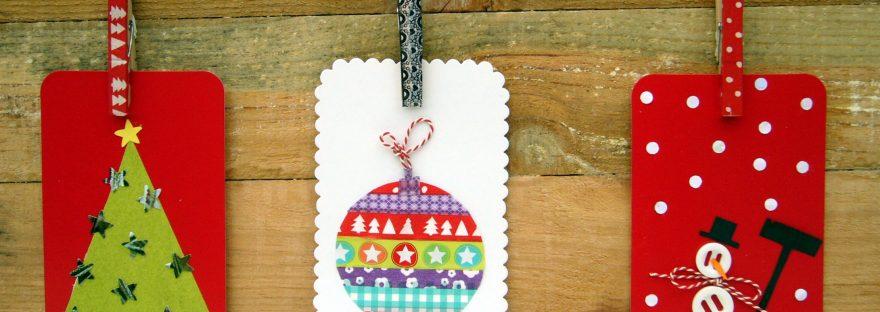DIY kerstkaart maken