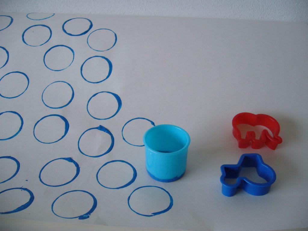 stempel maken met spullen uit huis