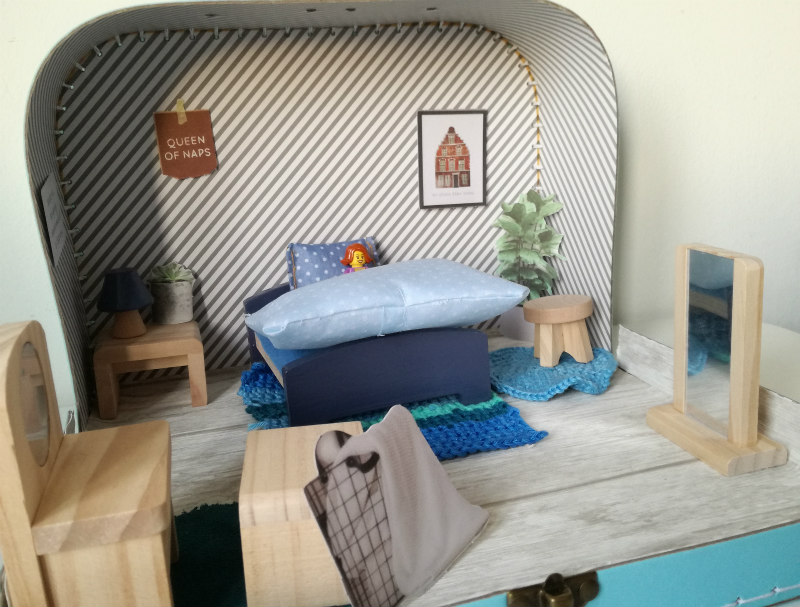 DIY sinterklaas poppenhuis