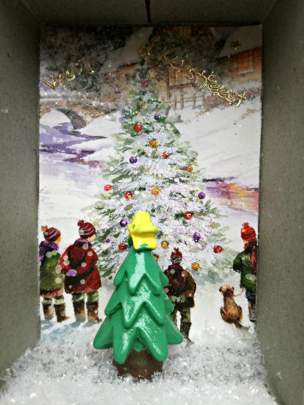 zelf kerstkaarten maken