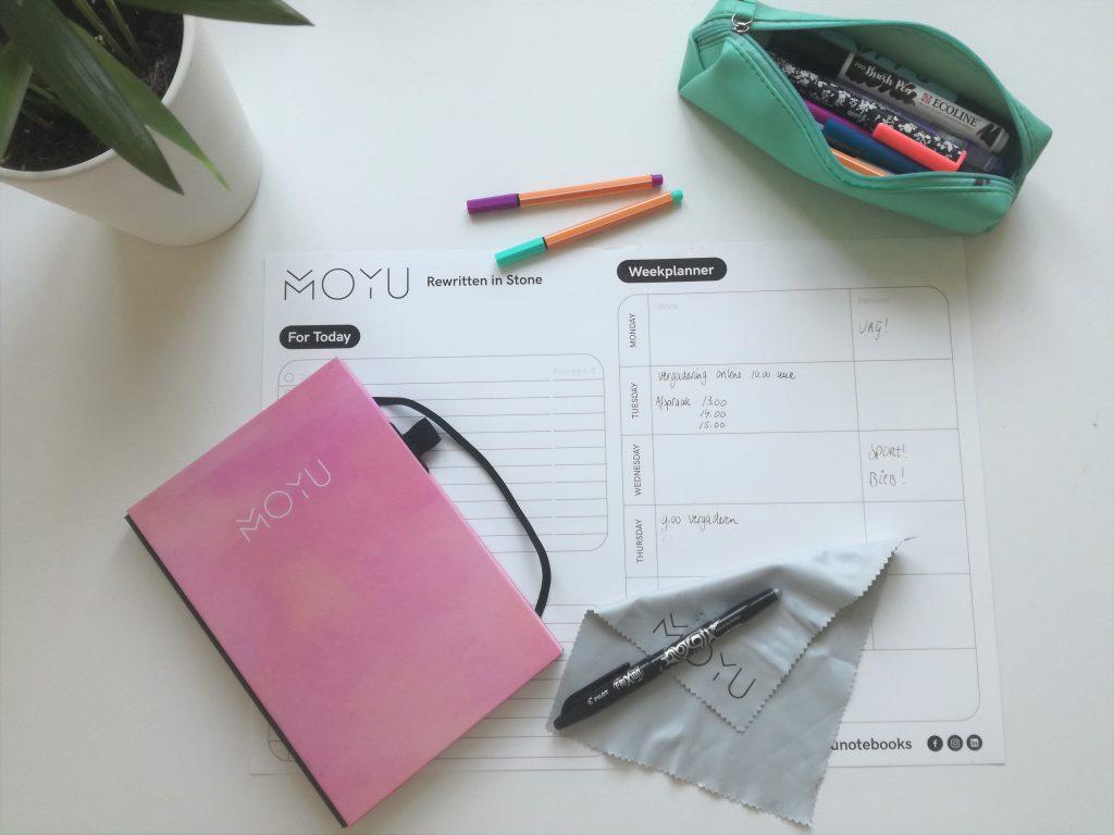 herschrijfbaar notitieboek