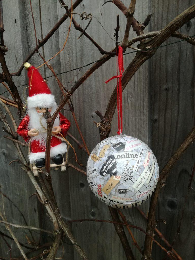 zelf een kerstbal maken