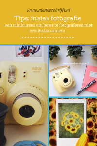 instax fotografie tips