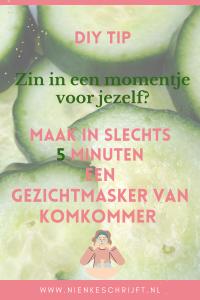 hoe maak je een gezichtsmasker van komkommer