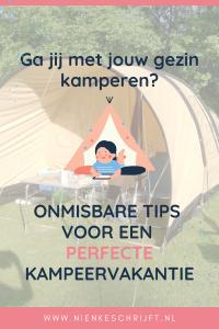 de beste tips voor een kampeervakantie